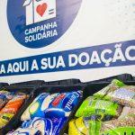 Fundo Social distribui 4 mil cestas e mantém  campanha de arrecadação de alimentos