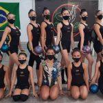 Ginástica Rítmica de Osasco conquista 17 medalhas em Torneio Online