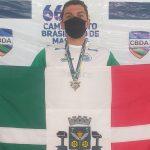 Osasquense conquista ouro no  Brasileiro Master de Natação