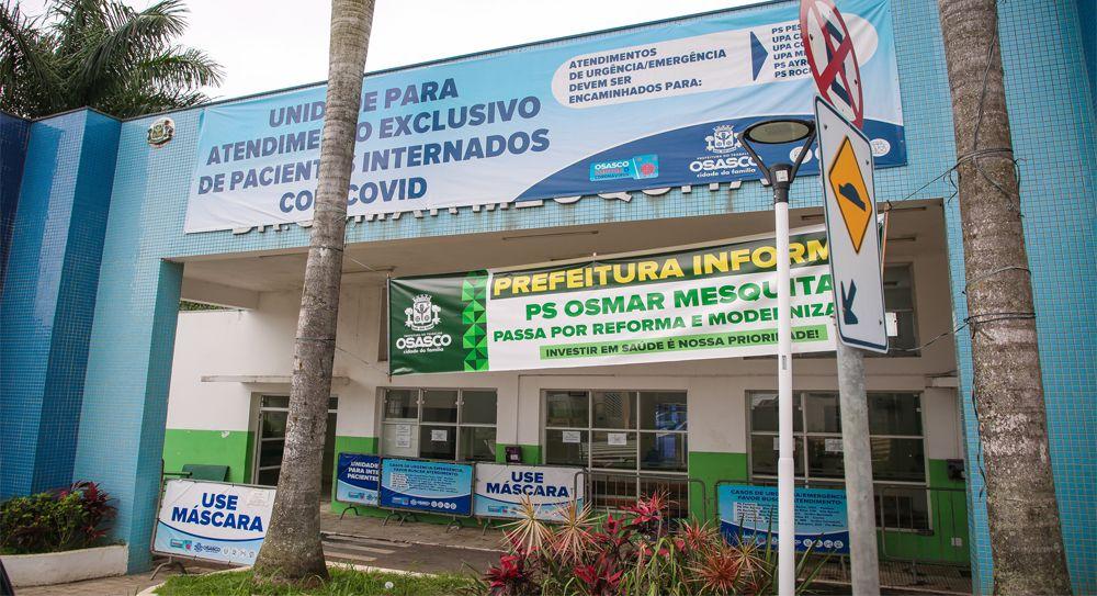 Obras do PS Osmar Mesquita seguem em ritmo acelerado